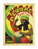 Reggae Fest Art by  Anderson Design Group