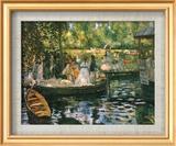 Le Grenouillere Prints by Pierre-Auguste Renoir