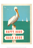 Happy Hour Posters af Anderson Design Group