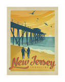 Jersey Shore Print by  Anderson Design Group
