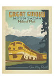 Great Smoky Mountains National Park Poster af Anderson Design Group