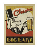 Cheers Big Ears Posters by  Anderson Design Group