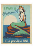 Mermaid Print by  Anderson Design Group
