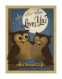 Who Who Who Loves Ya Poster van  Anderson Design Group
