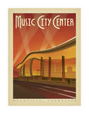 Music City Center, Nashville, Tennessee Print by  Anderson Design Group