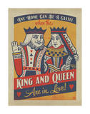 King and Queen Prints by  Anderson Design Group