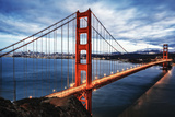 The Famous Golden Gate Bridge Fotodruck von  prochasson