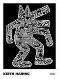 Keith Haring - Dog, 1985 - Poster