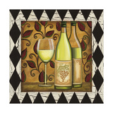 Harlequin and Wine II Posters by Carolee Vitaletti