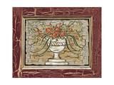 Antique White Vase II Premium Giclee Print by Carolee Vitaletti