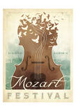 Mozart Festival Plakaty autor Anderson Design Group