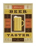Official Beer Taster Poster by  Anderson Design Group