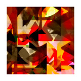 Burn Abstract 1 Premium Giclee Print by Amy Lighthall