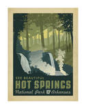 Hot Springs National Park, Arkansas Poster von  Anderson Design Group