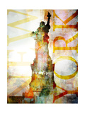 High Above II Premium Giclee Print by  Roozbeh