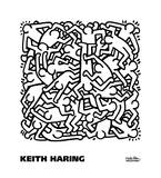 Party of Life Invitation, 1986 Kunst af Keith Haring