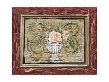 Antique White Vase III Premium Giclee Print by Carolee Vitaletti
