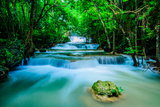Huay Mae Khamin - Waterfall, Flowing Water, Paradise in Thailand. Photographic Print by  ThaiWanderer