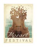 Mozart Festival Plakater af Anderson Design Group