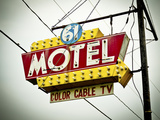 Vintage Motel V Photographic Print by  Recapturist