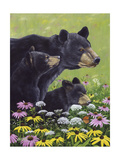 Black Bears Prints by Fred Szatkowski