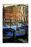 Venetian Canals I Poster by Danny Head