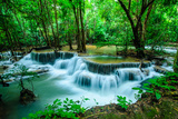 Huay Mae Khamin - Waterfall, Flowing Water, Paradise in Thailand. Photo by  ThaiWanderer
