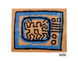 Untitled, 1981 (TV) Posters by Keith Haring