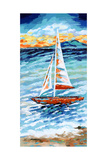 Wind in My Sail II Posters by Carolee Vitaletti