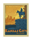 Kansas City, Missouri Poster by  Anderson Design Group
