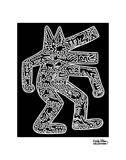 Hund, 1985 Kunstdrucke von Keith Haring