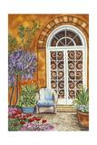 Tuscan Veranda I Premium Giclee Print by Carolee Vitaletti