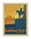 Kansas City, Missouri Posters by  Anderson Design Group