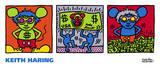 Ratón Andy, 1986 Arte por Keith Haring