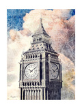 Distressed London Print by  Roozbeh