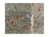Ornaments Premium Giclee Print by Fred Szatkowski