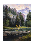 Cure of the Rockies Premium Giclee Print by Jack Sorenson
