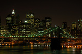 Brooklyn Bridge and Manhattan Skyline Prints by  p.lange