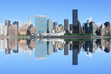 Midtown Manhattan Skyline on a Clear Blue Day, New York City Photographic Print by  Zigi