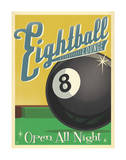 Eightball Lounge Pósters por Anderson Design Group