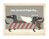 Bark The Herald Angels Wall Art by  Anderson Design Group