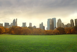 View of New York Buildings from Central Park Photographic Print by  olly2
