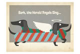 Bark The Herald Angels Prints by  Anderson Design Group