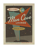 Vegas Man Cave Sign Posters by  Anderson Design Group