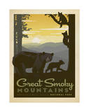 Great Smoky Mountains National Park Plakat af Anderson Design Group