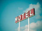 Vintage Motel IV Photographic Print by  Recapturist