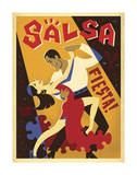 Salsa Fiesta Art by  Anderson Design Group