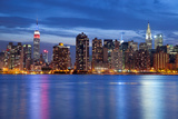 Manhattan Skyline. Fotografisk trykk av  rudi1976