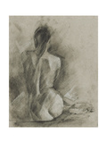 Charcoal Figure Study I Prints by Ethan Harper