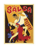 Salsa Fiesta Prints by  Anderson Design Group
